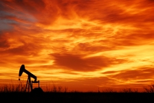 oilfield-sunset-pump-unit